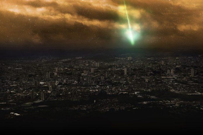Türkiye'de meteor iddiası
