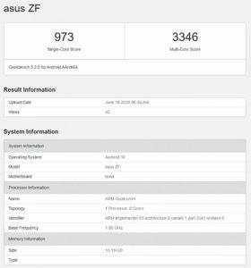Asus ZenFone 7'nin özellikleri sızdırıldı!
