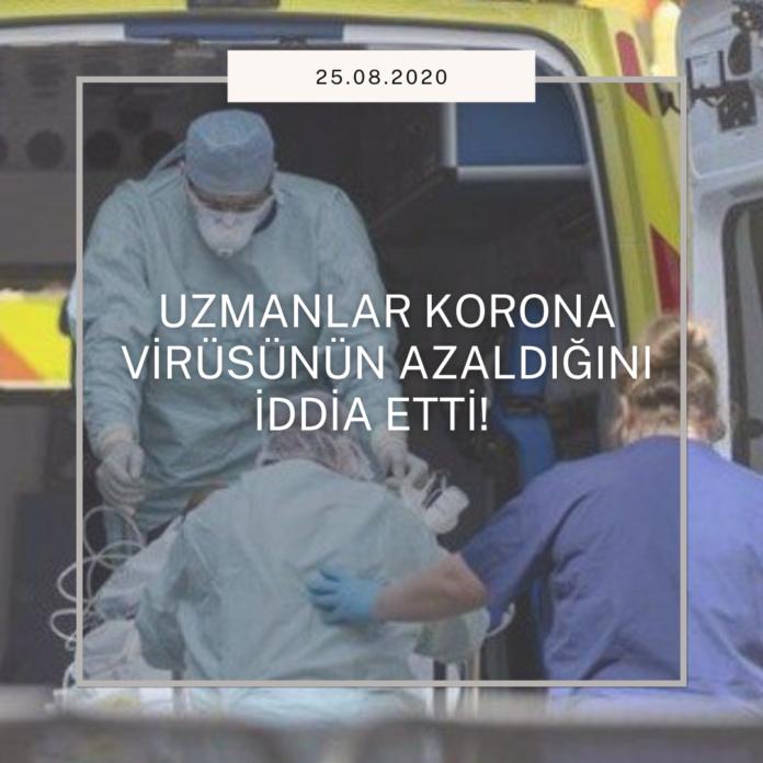 Uzmanlar Korona Virüsünün Ölümcül Riskinin Azaldığını Söylüyor