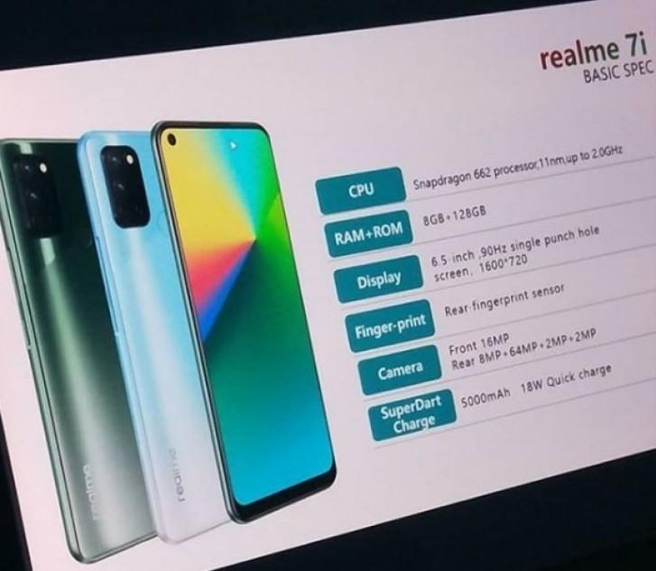 Realme 7i tasarımı ve özellikleri sızdırıldı