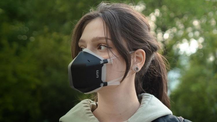 Maskeler Değişiyor! Yeni UVMask Solunan Havayı Filtreleyen Maske