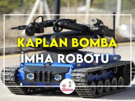 Kaplan-Bomba-İmha-Robotu