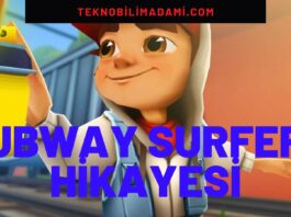 Subway Surfers Hikayesi