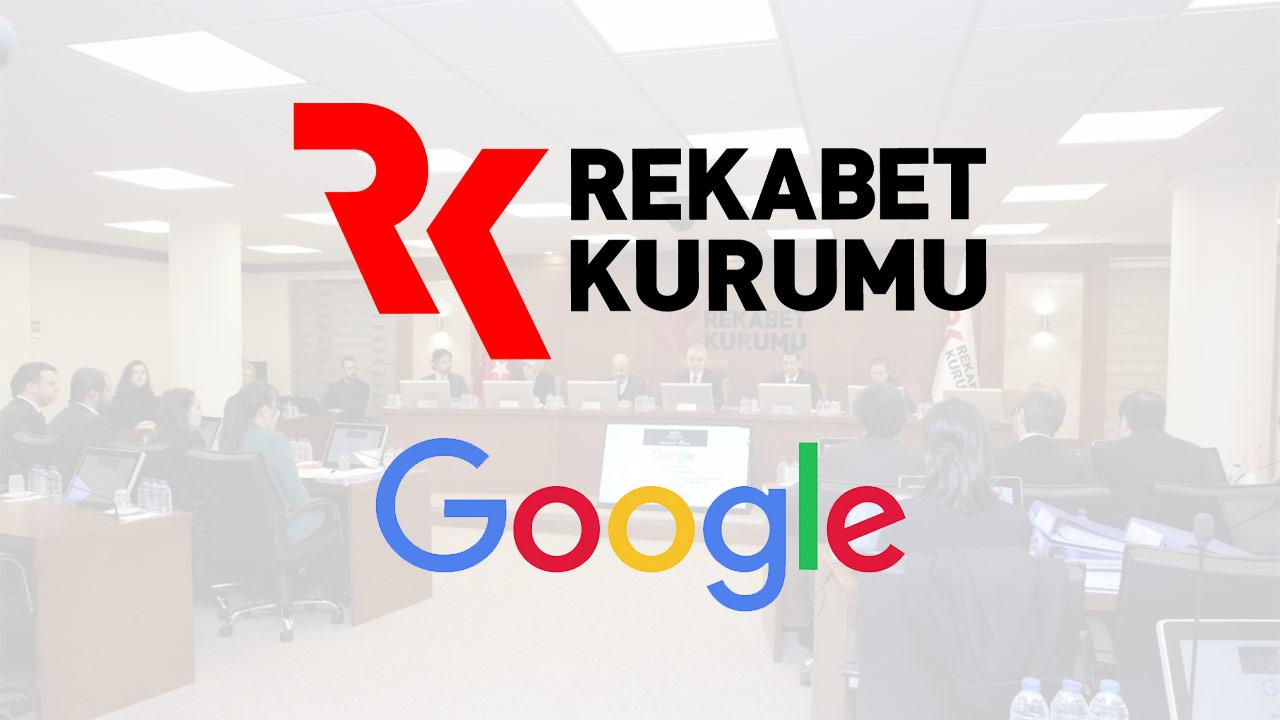 Rekabet Kurumu'ndan Google'a rekor ceza: Yaklaşık 200 milyon TL!