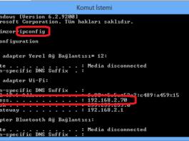 IP Adresi Değiştirme Nasıl Yapılır