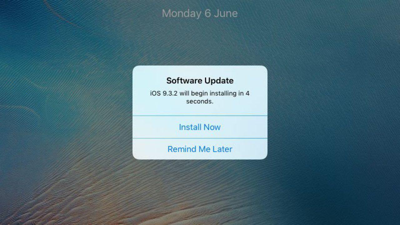 iOS Güncelleme İndirmesi Nasıl Engellenir