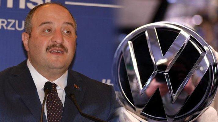 Volkswagen Türkiye için bakanlıktan açıklama geldi!