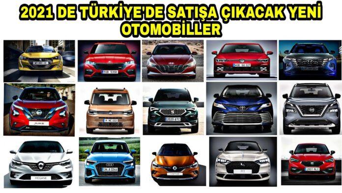2021'de Türkiye'de Yollara Çıkacak 10 Yeni Otomobil