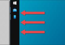 Windows görev çubuğu