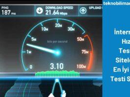 İnternet Hız Testi Siteleri En İyi Hız Testi Sitesi
