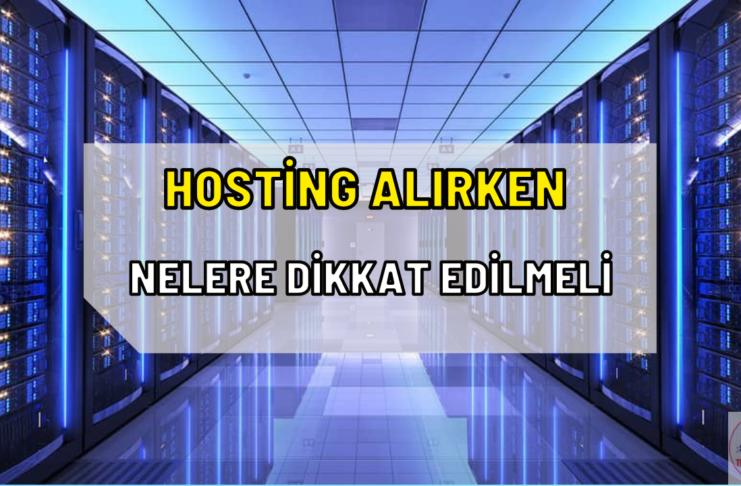 hosting önemi